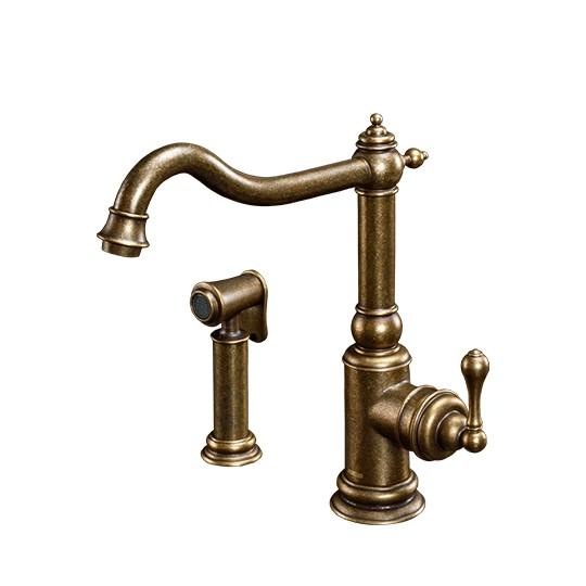Kitchen Faucet W/Sprayer