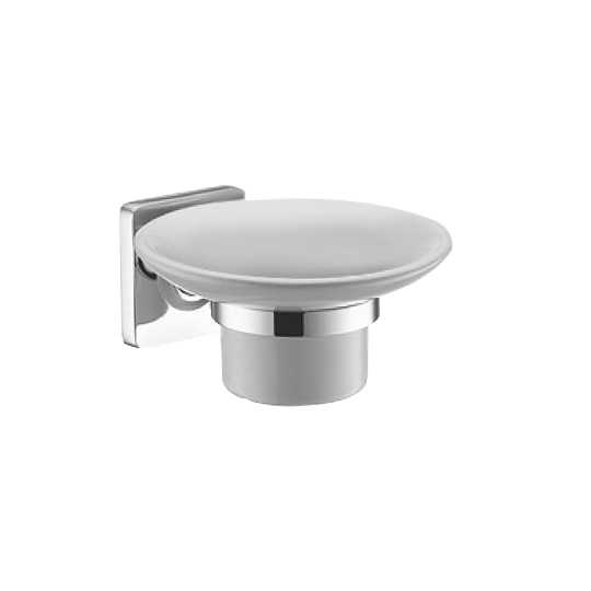 Soap Dish W/Porcelain Dish