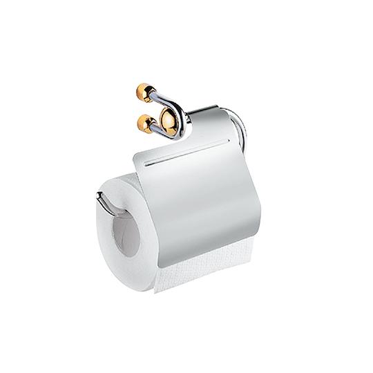 Toilet Tissue Holder W/Lid