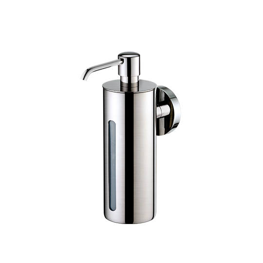 Soap Dispenser W/Front Window Slot (Stainless Steel)