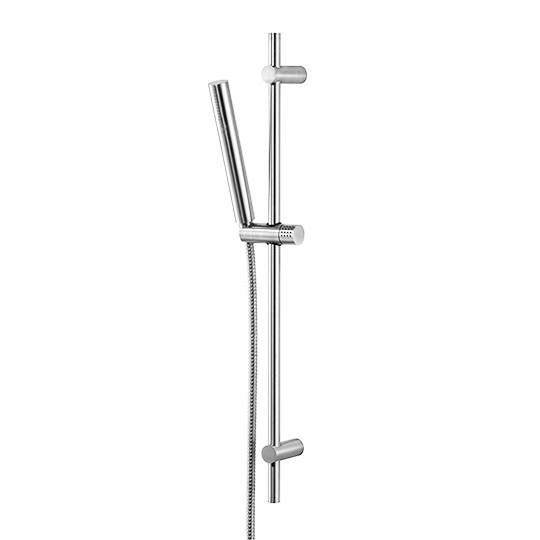 Slide Bar Set W/ Hand Shower & Hose (Stainless Steel)