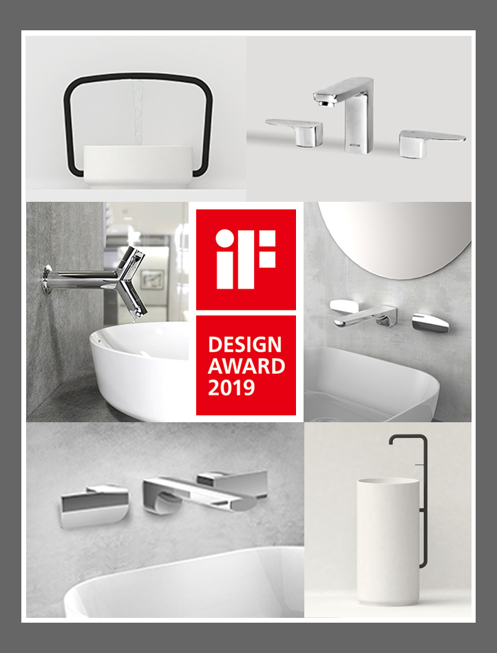 An international jury panel of 67 design experts has selected 6 of our products to be the winners of iF Design Award 2019