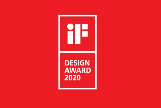 JUSTIME designs won 2020 iF Award