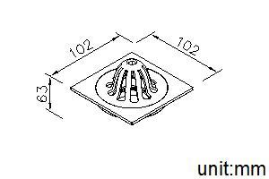 6310-AS-80CP_Roof Floor Drain_DIM