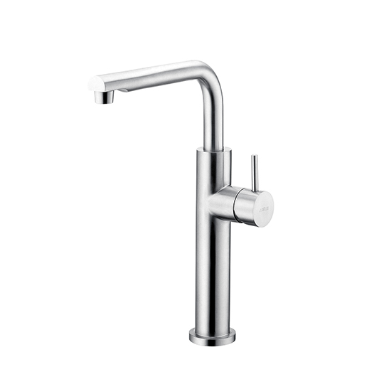 Kitchen Faucet (Stainless Steel)
