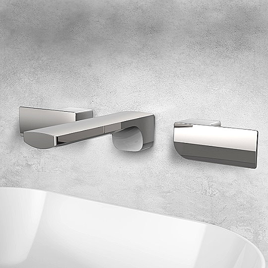 Arch 2 Two-Handle Wall-Mounted Basin Faucet