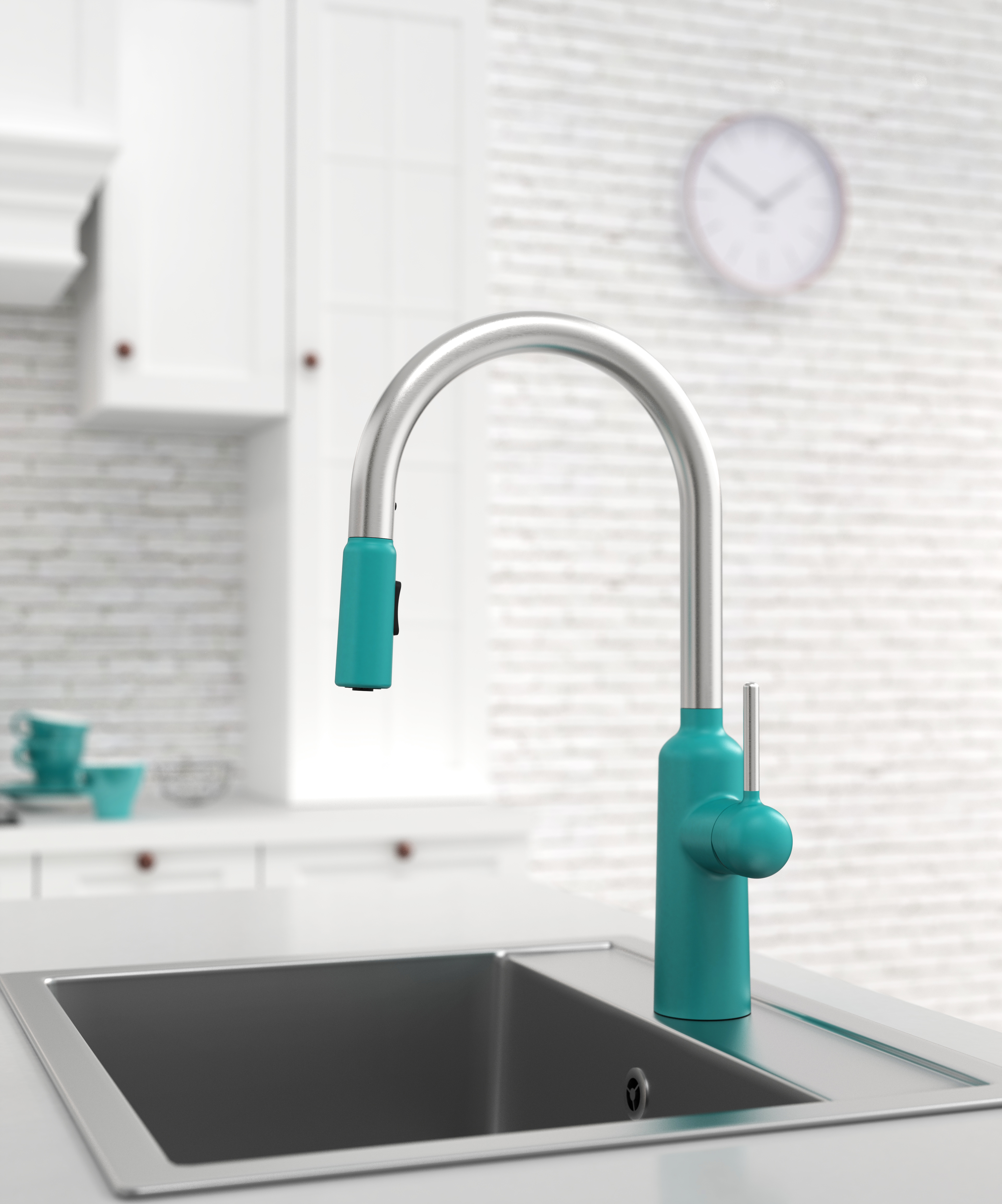 Chapter 2 Kitchen Faucet with Pull-out Sprayer