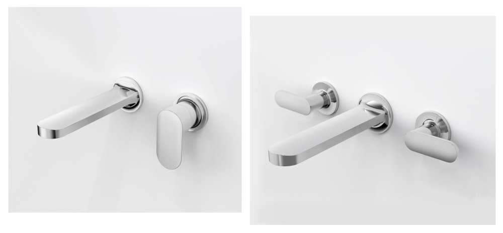 JUSTIME Charming + Wall-Mounted Basin Faucets