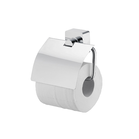 Toilet Tissue Holder W/Lid